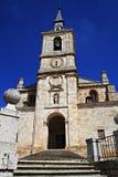 OLD CHURCH IN LERMA, BURGOS. SPAIN royalty free stock images