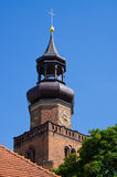 Old church in Leszno, Poland Royalty Free Stock Images