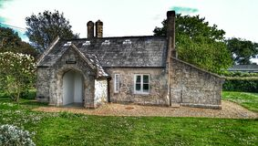 The old church lodge Royalty Free Stock Image