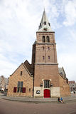 Old church on markt in Wageningen Royalty Free Stock Photography