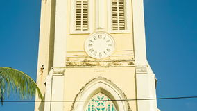 Old church in mauritius stock footage