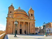 Old church in Mgarr. Malta Royalty Free Stock Image