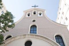 Old Church in Monaco Monte Carlo Stock Photos
