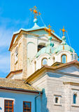 Old church in monastery Stock Image