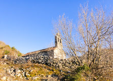 Old church in Montenegro. Mountains Royalty Free Stock Photos
