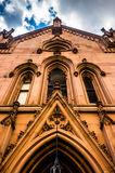 An old church in Mount Vernon, Baltimore, Maryland. Stock Photography