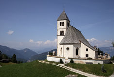 Old Church in the Mountains Royalty Free Stock Photos