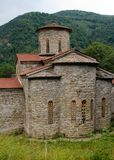 Old church in mountains Stock Image