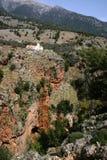 Old church in mountains,  gorg. E Aradena, Crete Stock Image