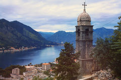 Old church on mountains Royalty Free Stock Images