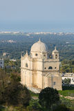 Old Church near the center of Ostuni, Puglia, south Italy Royalty Free Stock Photo