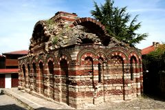 Old church in Nesebar Stock Photography