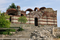 Old church in Nessebar Stock Photo