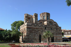 The old church in Nessebar. Stock Image