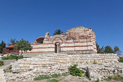 Old church in Nessebar, Bulgaria Stock Photography
