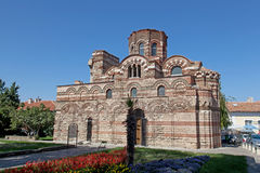 Old church in Nessebar, Bulgaria Royalty Free Stock Images