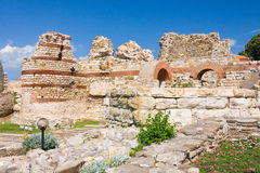 Old church in Nessebar, Bulgaria Stock Photos