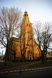 Old Church in Netherlands Stock Photos