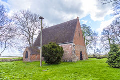 Old church of Netzelkow Stock Images