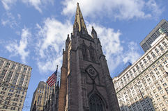 Old Church in New York City Royalty Free Stock Images