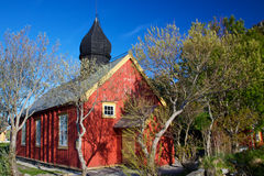 Old church in Nordland Royalty Free Stock Photos