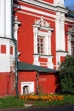 Old church in Novodevichy convent in Moscow. Royalty Free Stock Photography