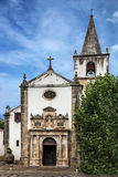 Old church in Obidos, Portugal Royalty Free Stock Image