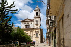 Old church in Old Havana Royalty Free Stock Photography