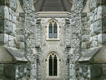 Old church. Old stone church / religious building Stock Photos