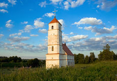 Old church. Old orthodox church in Belarus (Zaslaue Stock Photo