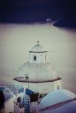 Old church. Old orthodox church on santorini island, greece Royalty Free Stock Photo