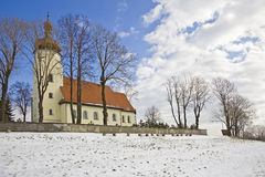 Old church outdoor Royalty Free Stock Photography