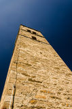Old church over a blue sky Royalty Free Stock Photography