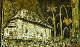 Old church painting Stock Photos