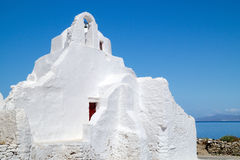 Old church of Panagia Paraportiani at Mykonos island Stock Photography
