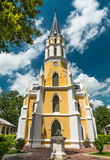 The old church in park. The old church in famous park Stock Photography