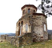 Old church Pavlica. The cultural monument of great importance Stock Photography