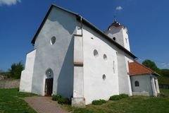 Old church in Pečenice, Slovakia Royalty Free Stock Photography