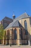 Old church Pieterskerk in the historic center of Utrecht Royalty Free Stock Image
