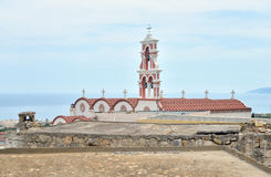 Old church in Piskopiano. Stock Photography
