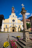 Old church in Police nad Metuji, Czech Republic Royalty Free Stock Photos