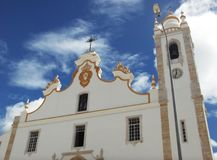 Old church in Portugal Stock Images