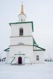 Old church in Preobrazhenka. Russia Stock Images