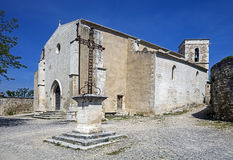 Old church in Provence 1 Royalty Free Stock Photos