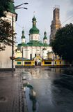 Orthodox Church in Kiev stock photography