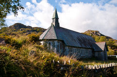 Old church. Old church at the Ring of Kerry, Co. Kerry, Ireland Stock Image