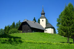 Old church, Rogla, Slovenia, Europe Royalty Free Stock Photo