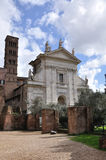 Old Church in Roman Forum Royalty Free Stock Image