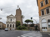 Old church in Rome Stock Photos