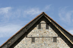 Old church roof Stock Images